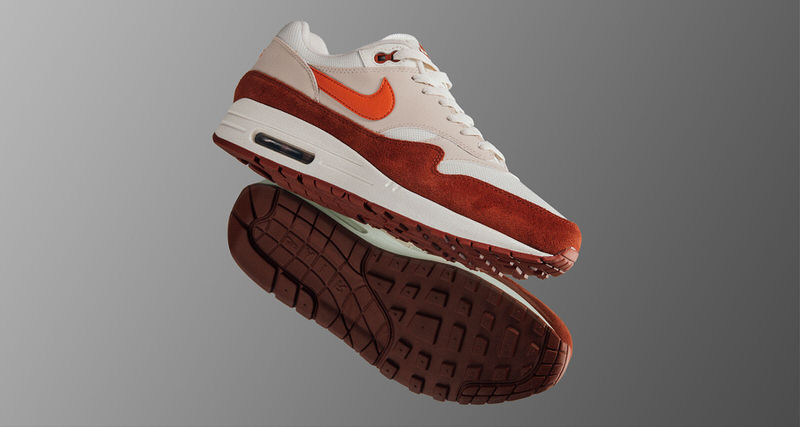 Nike Air Max 1 Sail/Mars Stone // Available Now