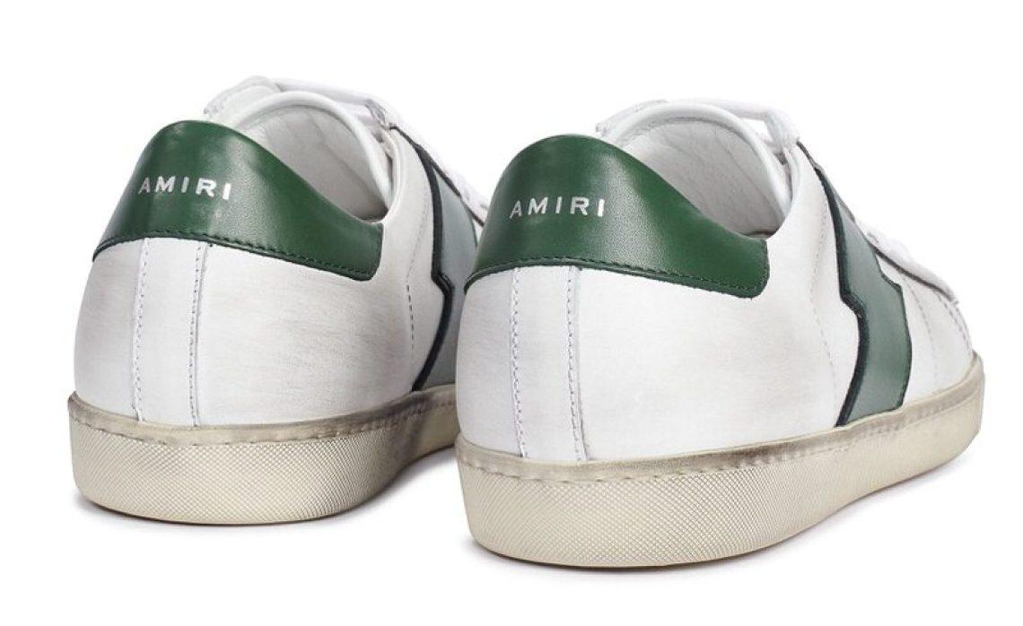 AMIRI Viper Leather Low