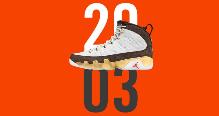 "Air Jordan 9 ""Mop Melo"""