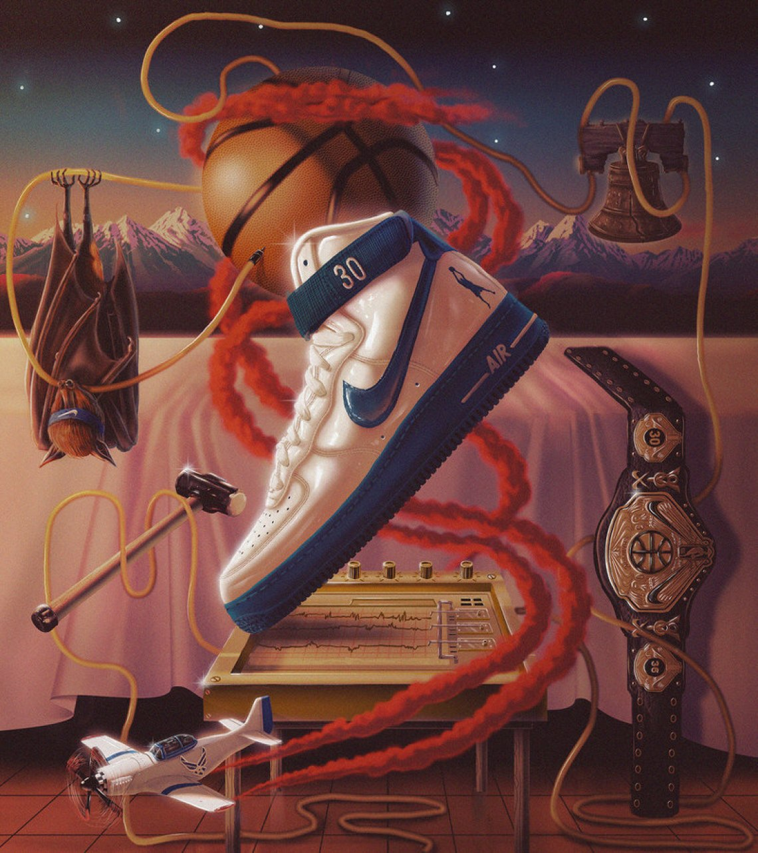 "huge discount 05082 c6421 ... 2018 Rasheed Wallace s Nike Air Force 1 High Retro ""Rude Awakening"