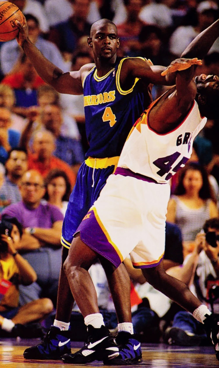 Chris Webber's rookie season under Don Nelson saw the same swag as his two  year stay with Steve Fisher — lots and lots of Nike. Officially on Swoosh  payroll ...
