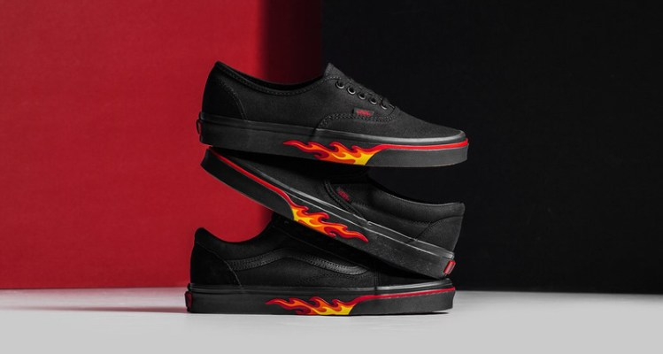 "Vans ""Flame Wall"" Collection"