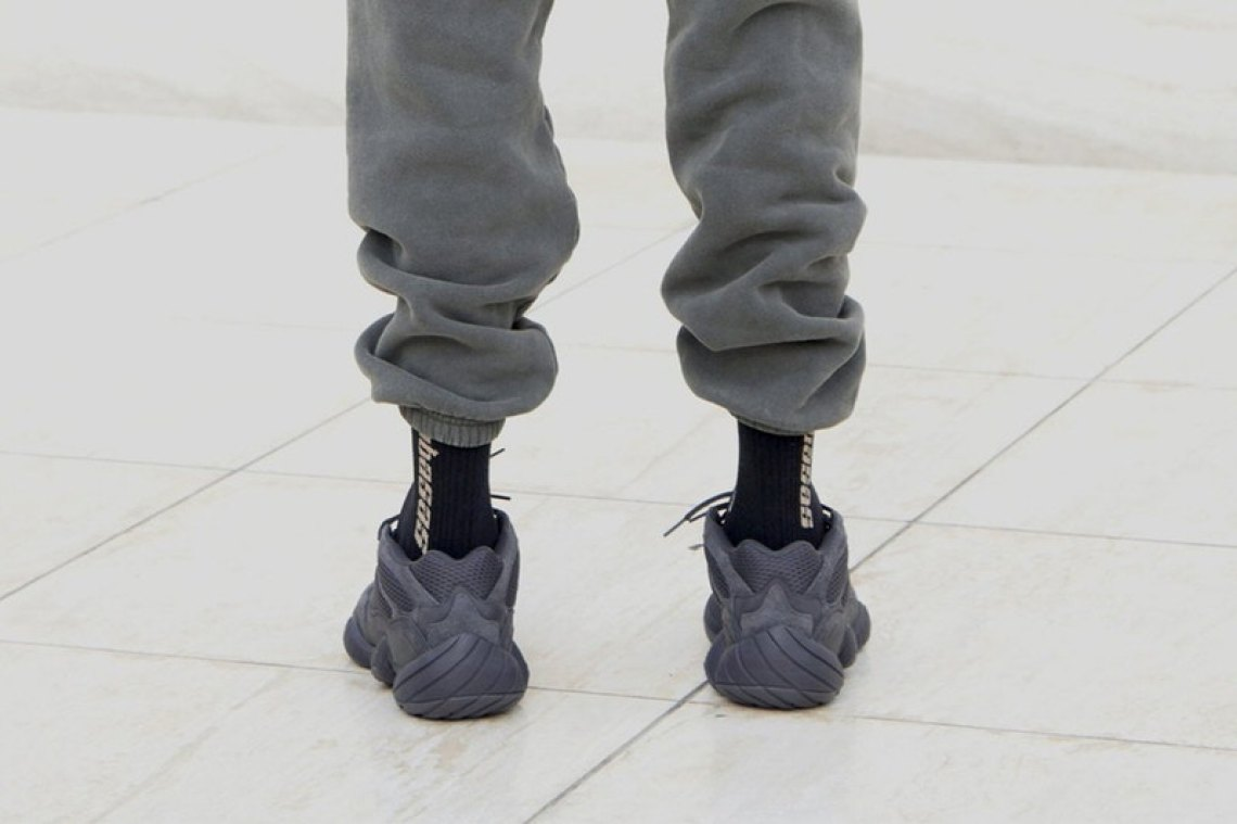 Outfit with Yeezy 500 Utility Black FT. Champion, MNML, RoseGold