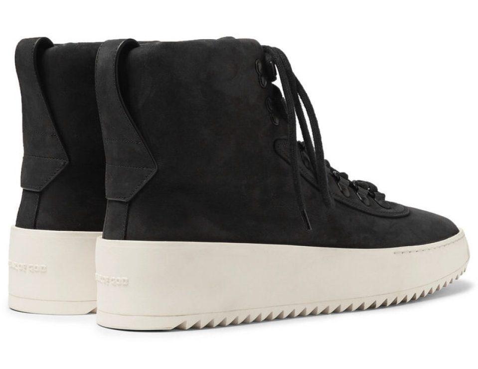 Fear of GodNubuck High-Top Sneakers