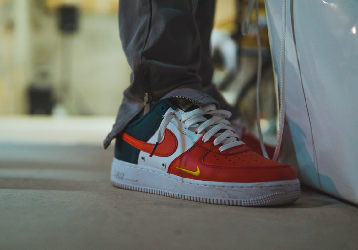 1e357367faebbc A pair of one of my favourite Air Force 1 colourways from last year