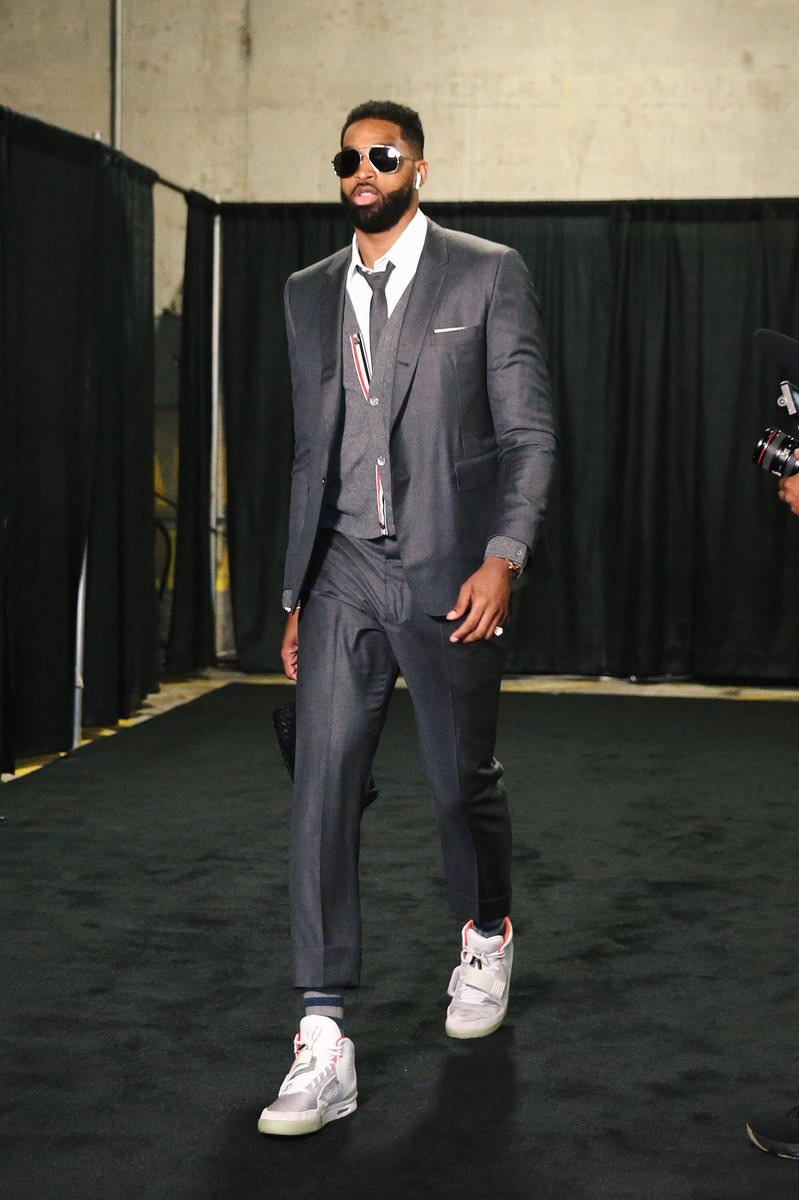 Tristan Thompson in the Nike Air Yeezy 2