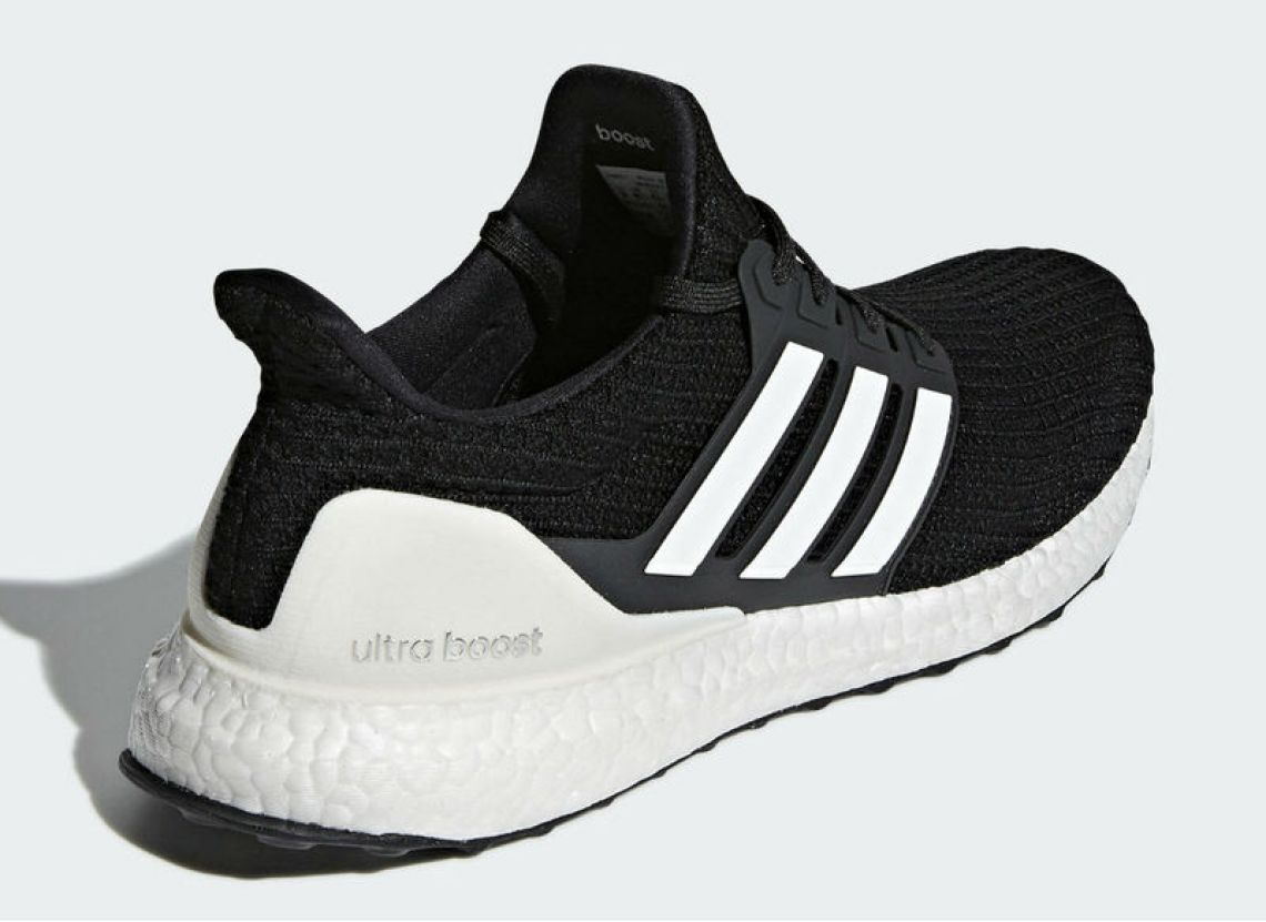 adidas Ultra Boost 4.0 Core Black/White www.unisportstore