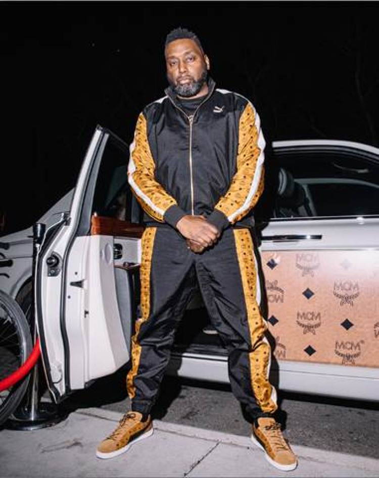 Big Daddy Kane in the MCM x Puma Clyde