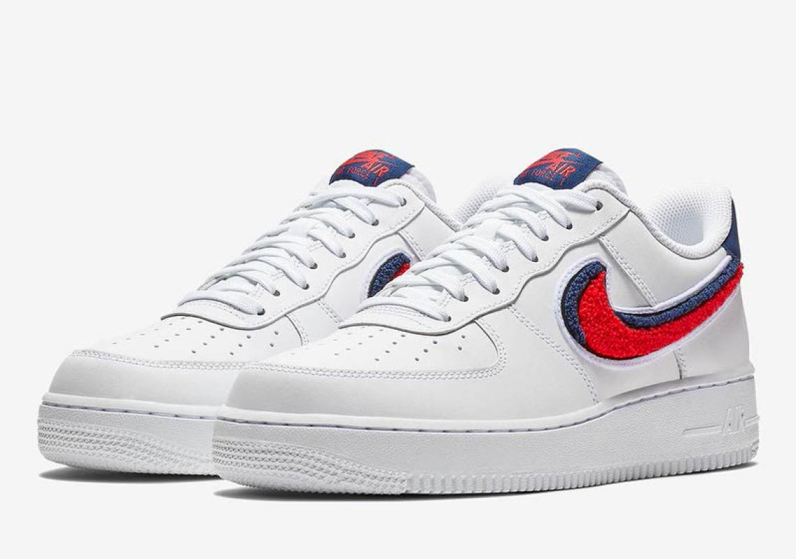 separation shoes 41e70 72ae2 Nike Air Force 1 Low Chenille