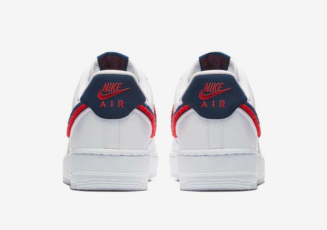 52e42c92a36c Nike Air Force 1 Low Chenille Swoosh