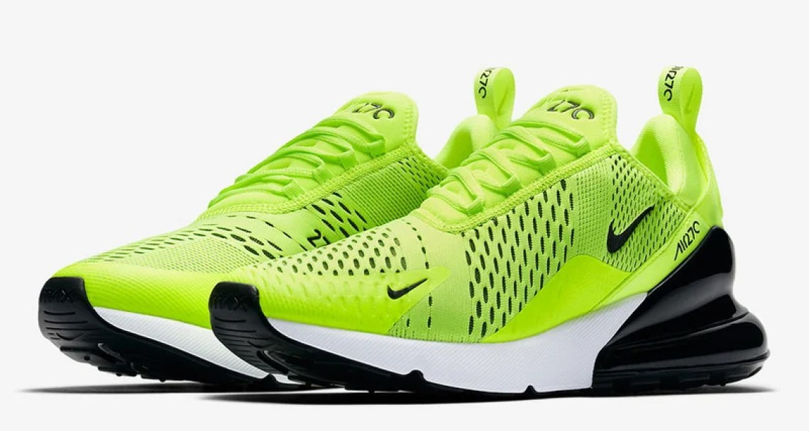 "Nike Air Max 270 Arrives in ""Volt"" This Week. May 1 ... 03d277162"