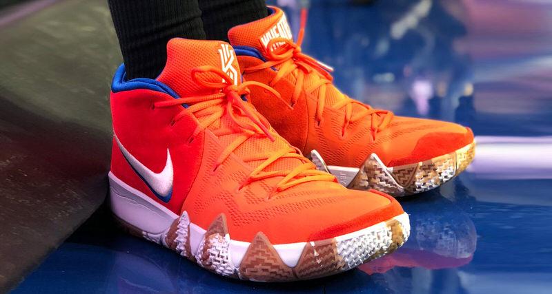 "A Closer Look at the Nike Kyrie 4 ""Wheaties""   Nice Kicks"