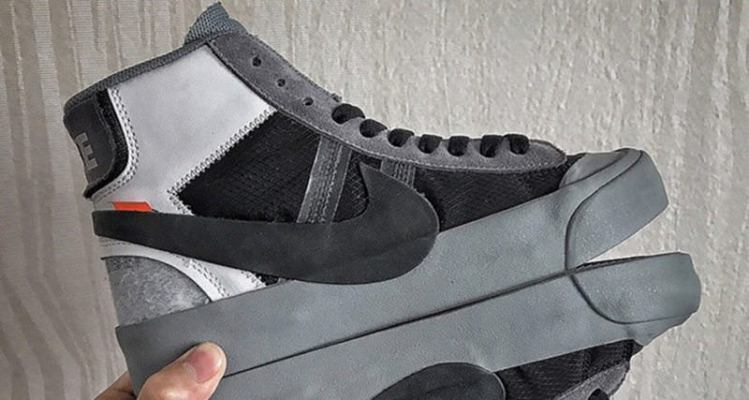 "OFF WHITE x Nike Blazer ""Grey"""