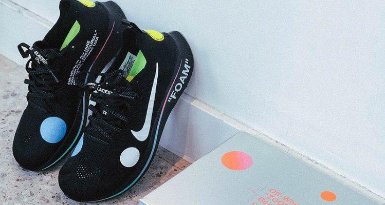 OFF WHITE x Nike Zoom Fly Mercurial Flyknit