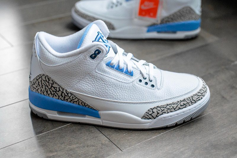 Air Jordan 3  UNC  Friend and Family   Nice Kicks Air Jordan 3  UNC  F F