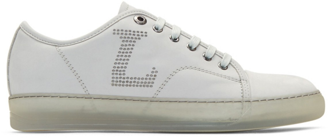 Lanvin Perforated Sneakers
