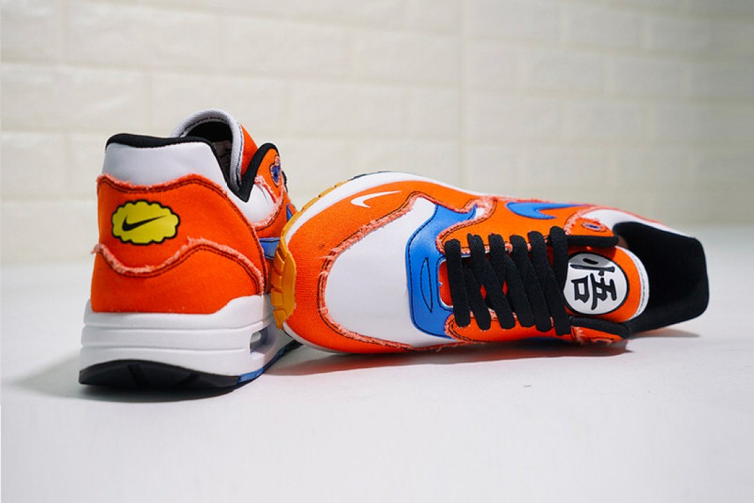"san francisco 5aac0 bde4b ... Custom Nike ""Goku"" Air Max 1 ..."