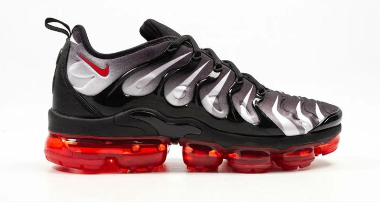 """65d223353c0 Nike Air VaporMax Plus """"Red Shark Tooth""""    Available Now"""