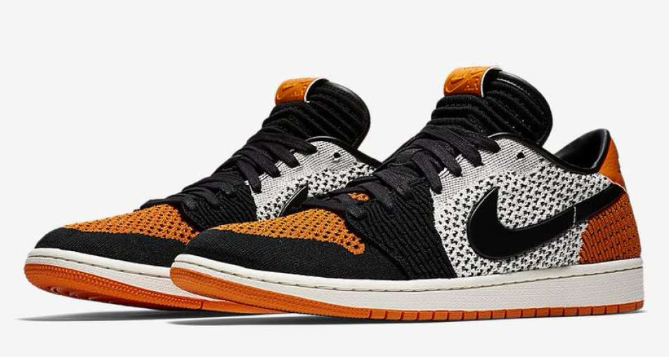 "Air Jordan 1 Low Flyknit ""Shattered Backboard"""