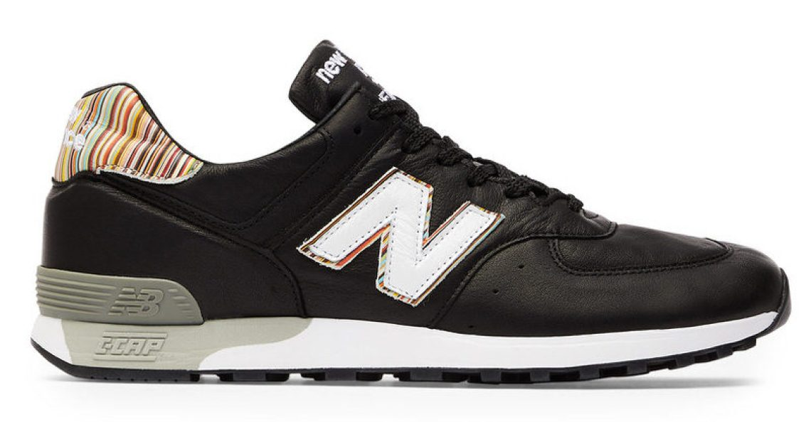 "Paul Smith x New Balance 576 ""Caviar and Vodka"""