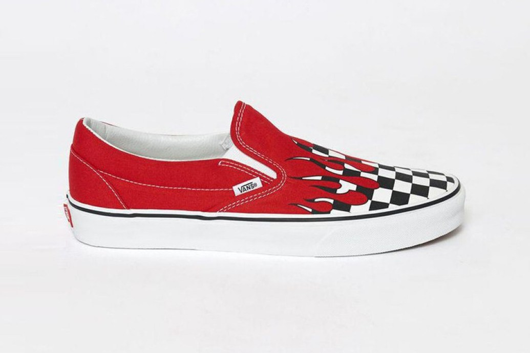 Vans Sets Checkerboard Print on Fire  57eb5f578