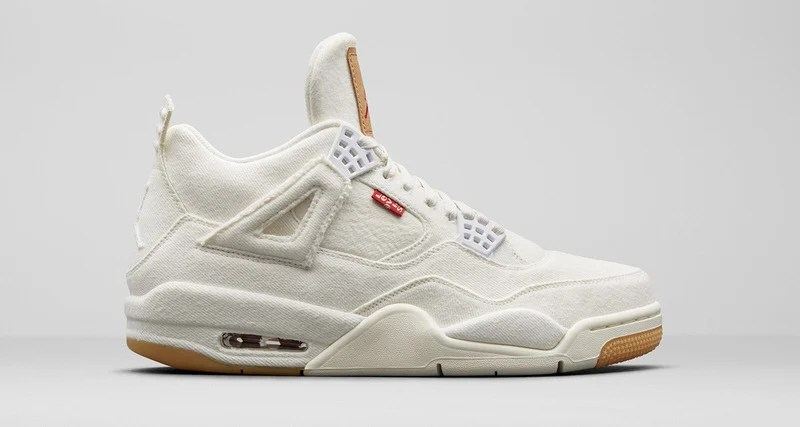 aa7cde24be0e79 Levi s x Air Jordan 4s Release Date Confirmed