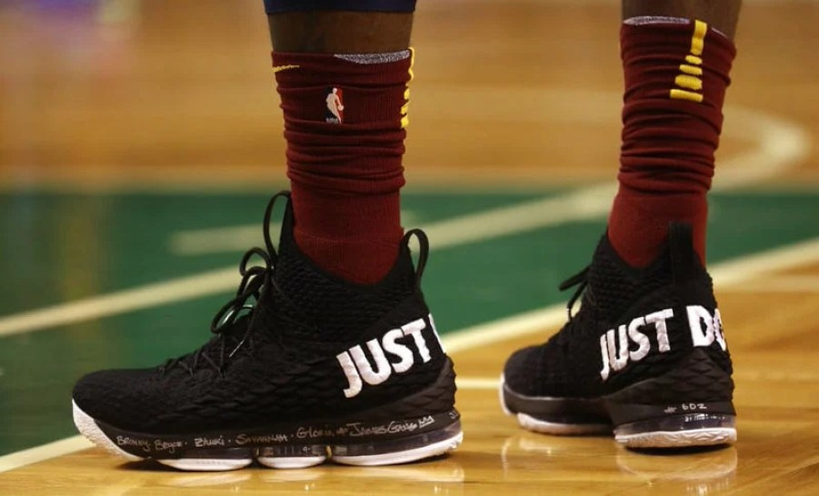 663a7094573d Every Sneaker Worn by LeBron James This Season