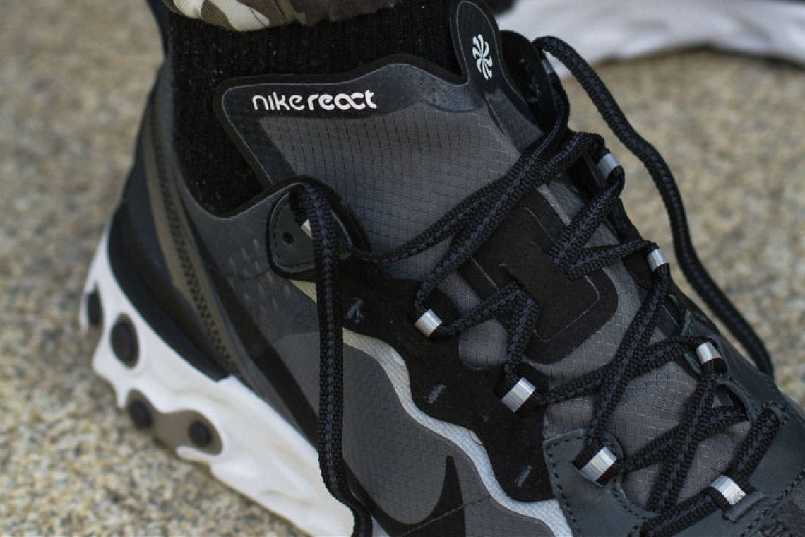 Nike React Element 87 Anthracite/Black