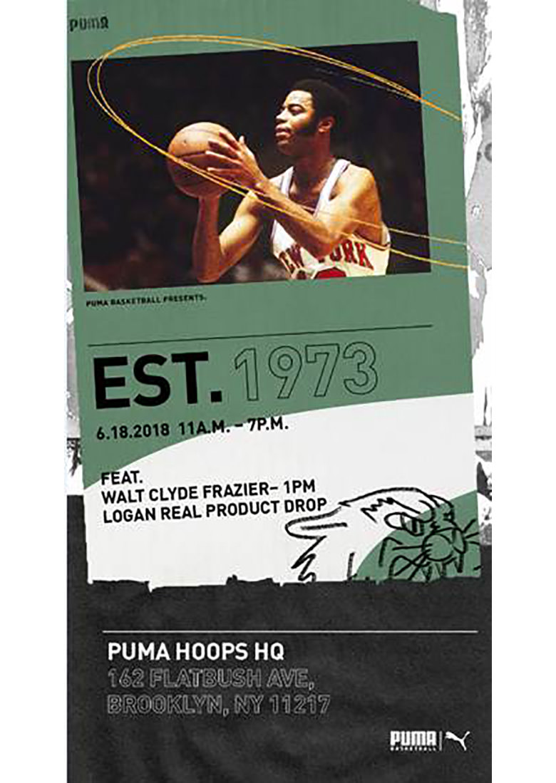 3d57e8171d5 PUMA Honors Walt Clyde Frazier With Lifetime Contract