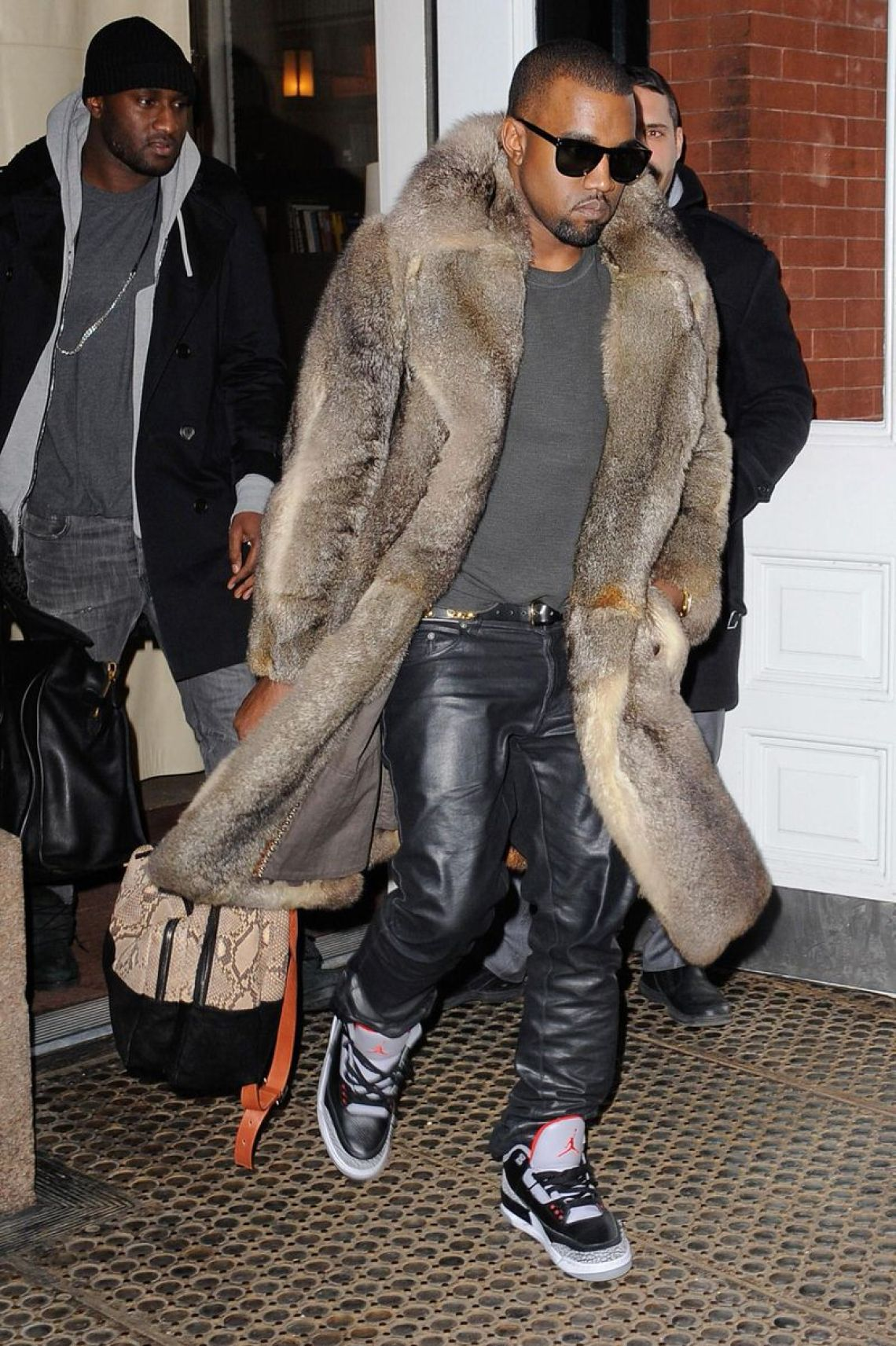 When the look of luxury was a fur coat, leather pants, and Jordan 3's.