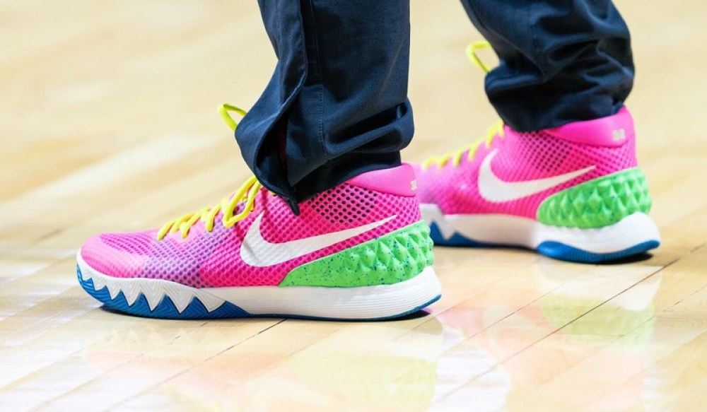 "... Rebekkah Brunson in the Nike Kyrie 1 ""BETRUE"" iD ... 1b5ae8700"