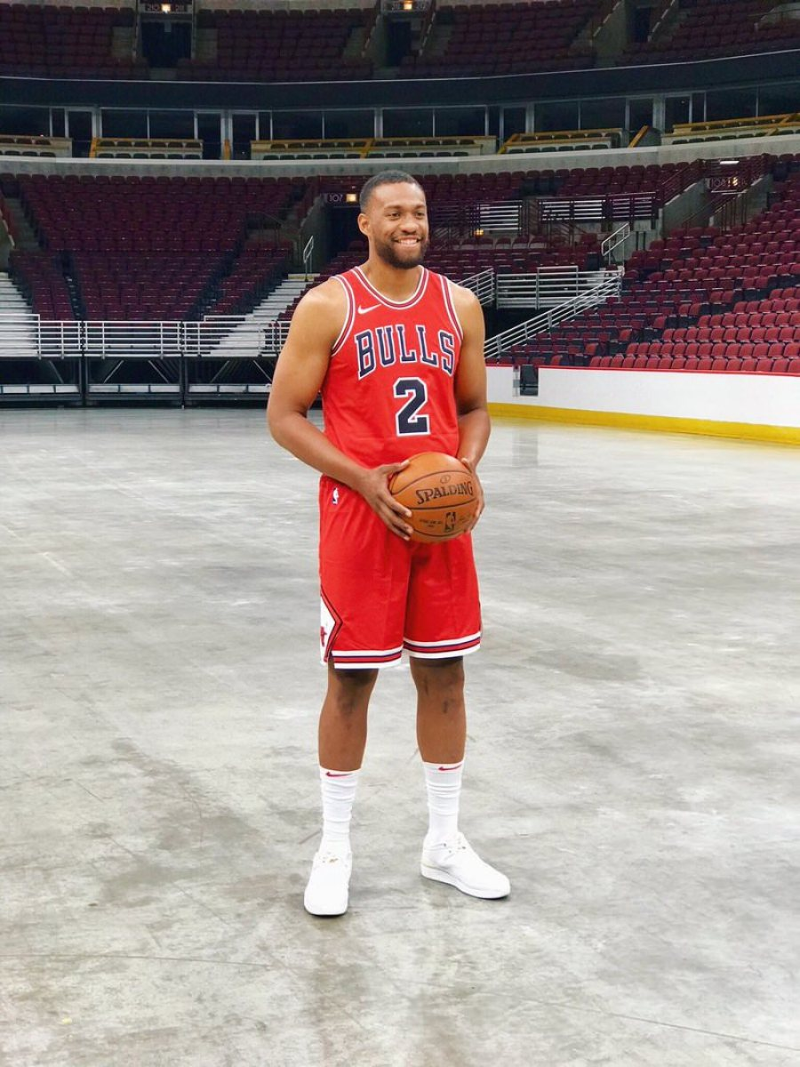 Jabari Parker in the Air Jordan 2 Low