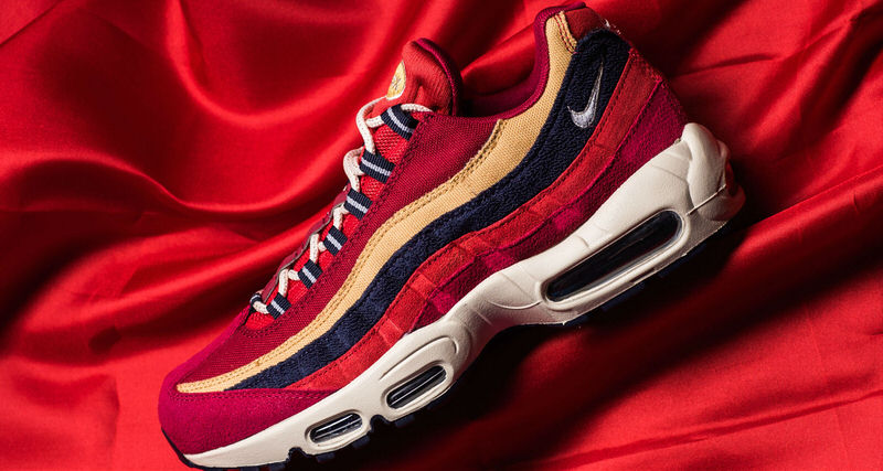 Nike Air Max '95 Premium - Red Crush/Wheat Gold buy cheap recommend JT4d8D