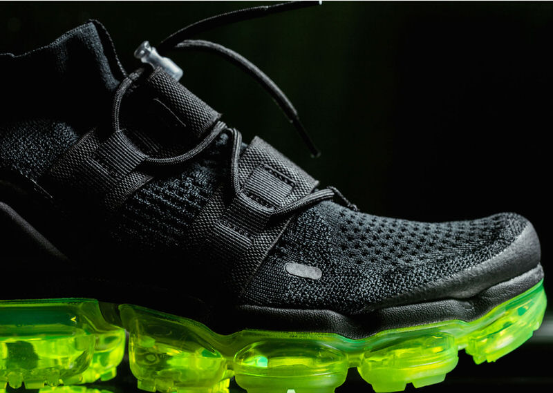 a9caf6e579 ... reduced nike air vapormax flyknit utility black volt bright crimson  001d5 5c98d