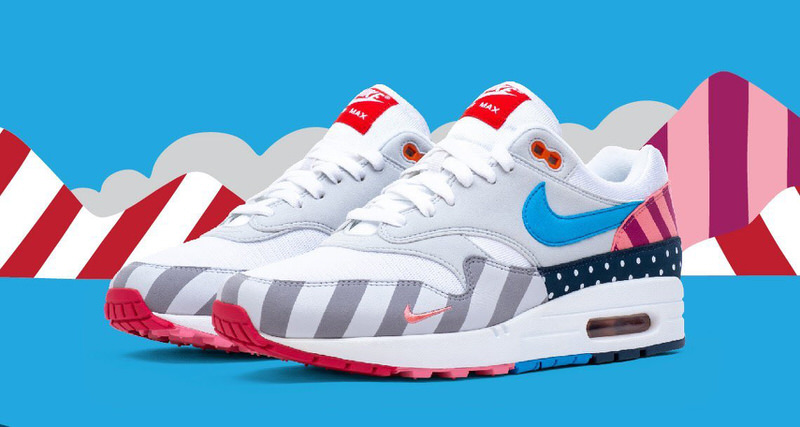 3bfdf6f09268 Here is Every Chance To Cop the Parra x Nike Air Max 1