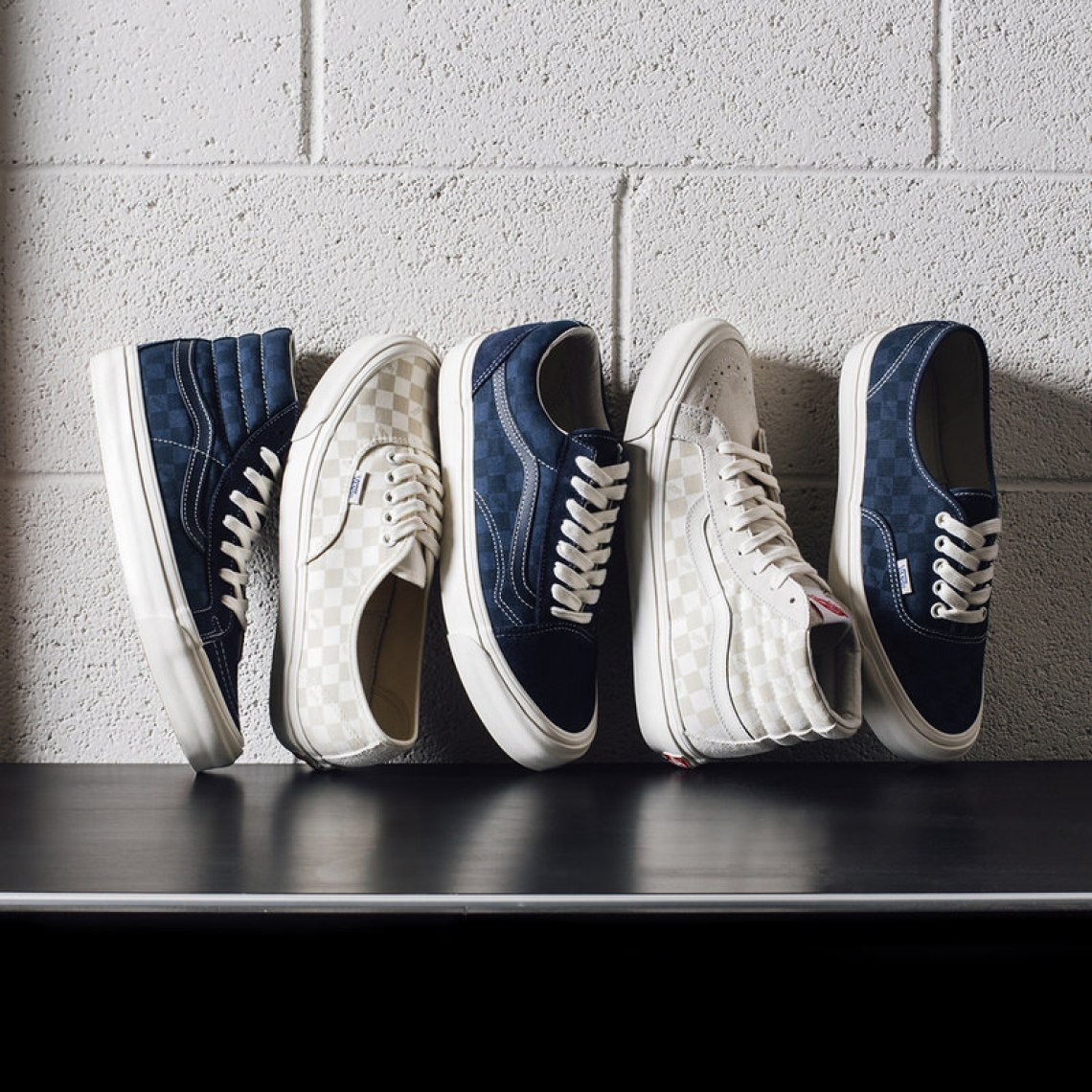 "Vans Vault ""Tonal Checkerboard"" Collection"