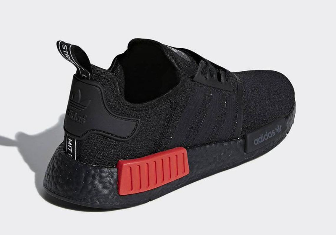 f23f4c18dc adidas NMD R1 Black Red September 2018