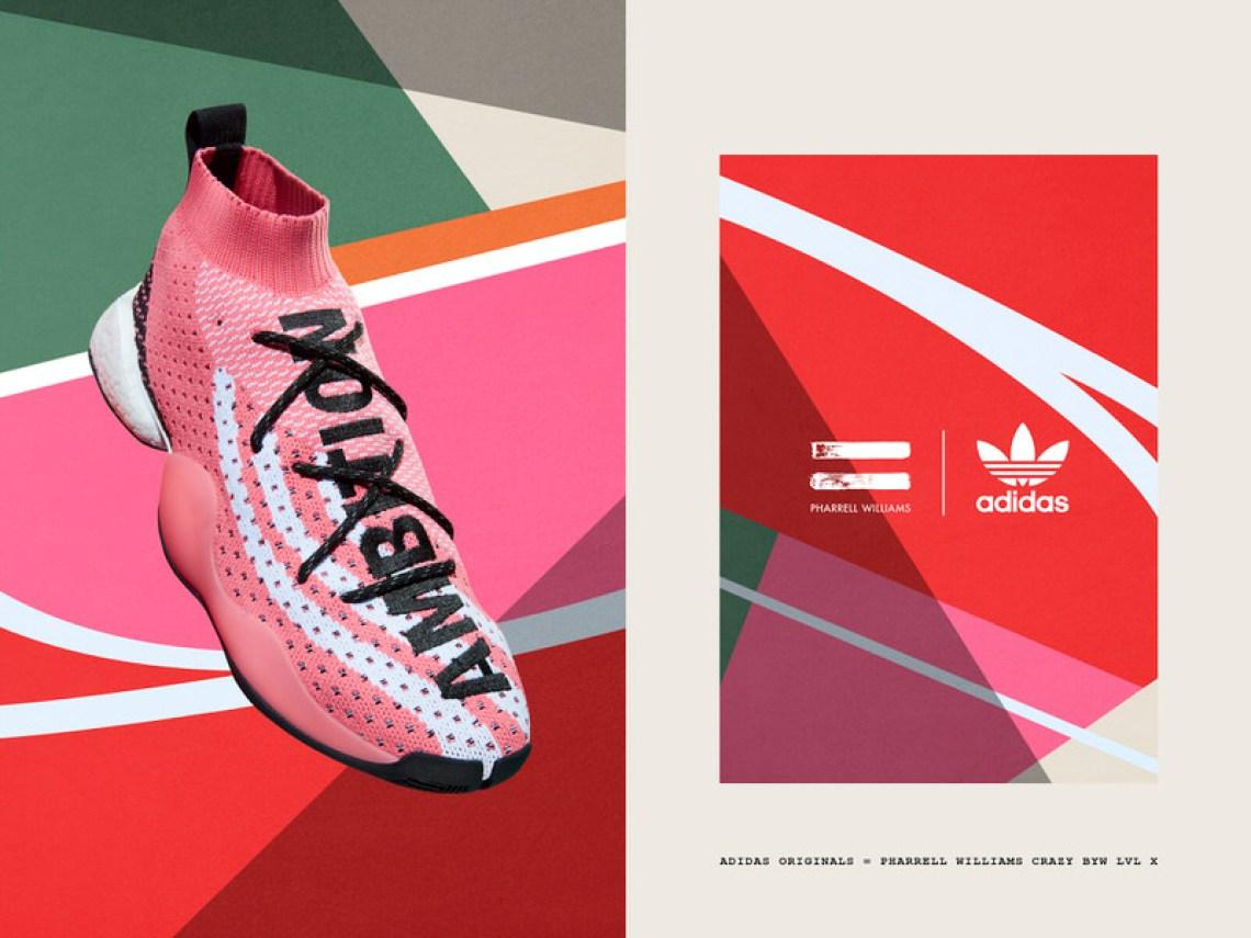 20352878e Pharrell x adidas Crazy BYW LVL X