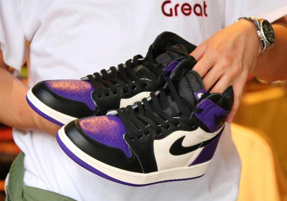 "08ddca4622e The Air Jordan 1 Retro High OG ""Court Purple"" is rumored to drop in  September. Stay tuned for the official release details."