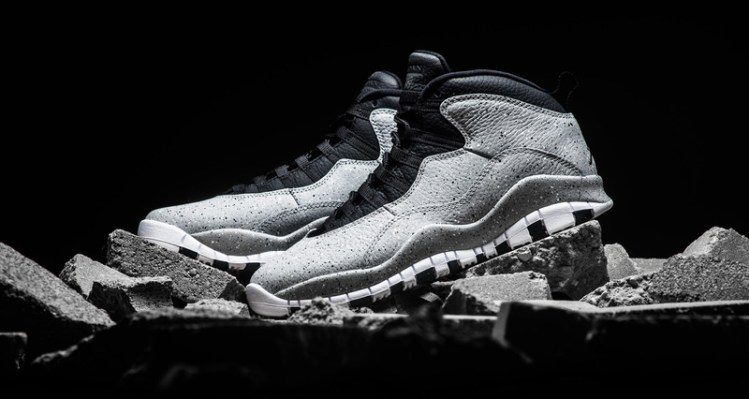 "Air Jordan 10 ""Light Smoke"""