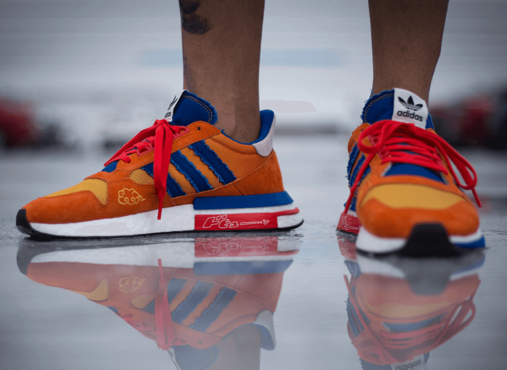 "competitive price b7e15 5bf3a ... Dragon Ball Z x adidas ZX 500 RM ""Goku"""
