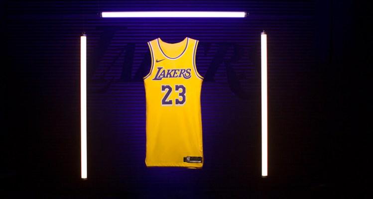 LeBron James Lakers Icon Swingman Jersey
