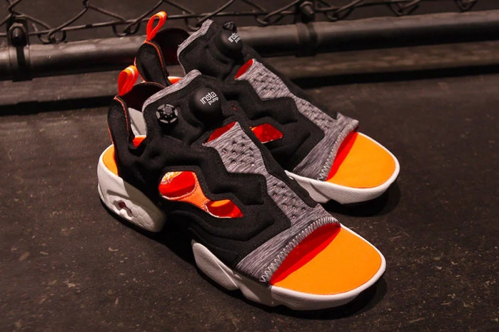 b117ecdb648b mita sneakers x WHIZ LIMITED x Reebok InstaPump Fury Sandal    Available Now