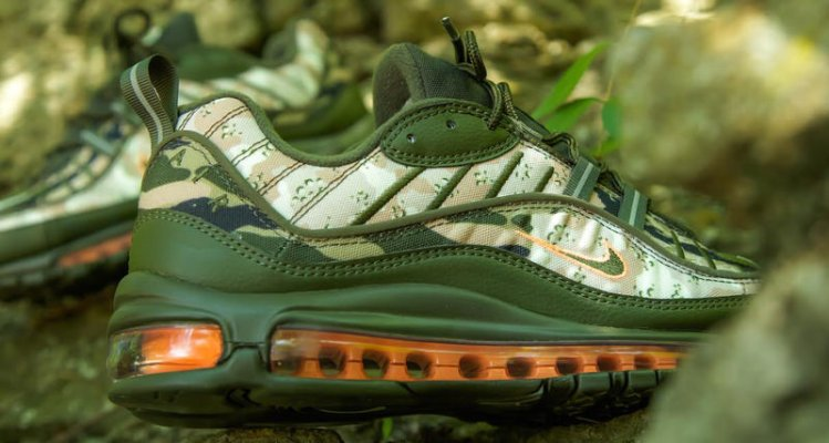 """52c08ce2cb Nike Air Max 98 """"Camo"""" // Available Now"""