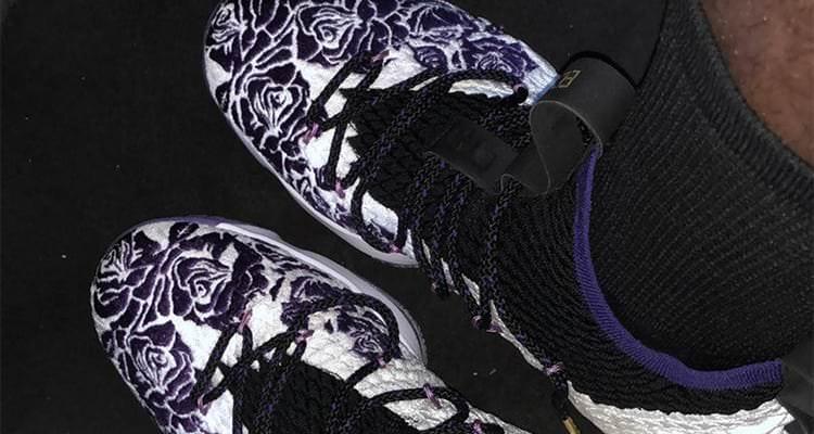 "Nike LeBron 15 ""Purple Rain"" PE"
