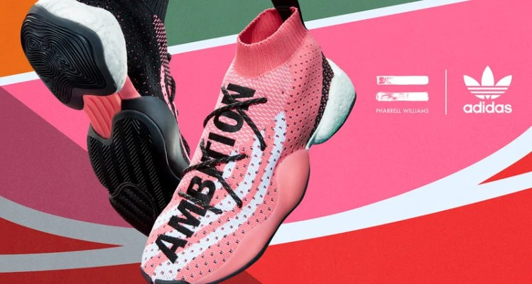 "Pharrell x adidas Crazy BYW LVL X ""AMBITION"""
