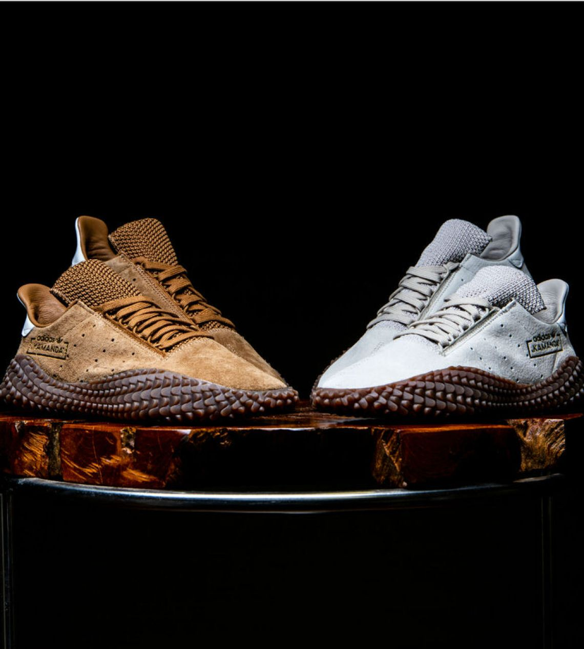 "new styles eeb73 26bb4 adidas Kamanda ""Brown Pack""  Available Now"
