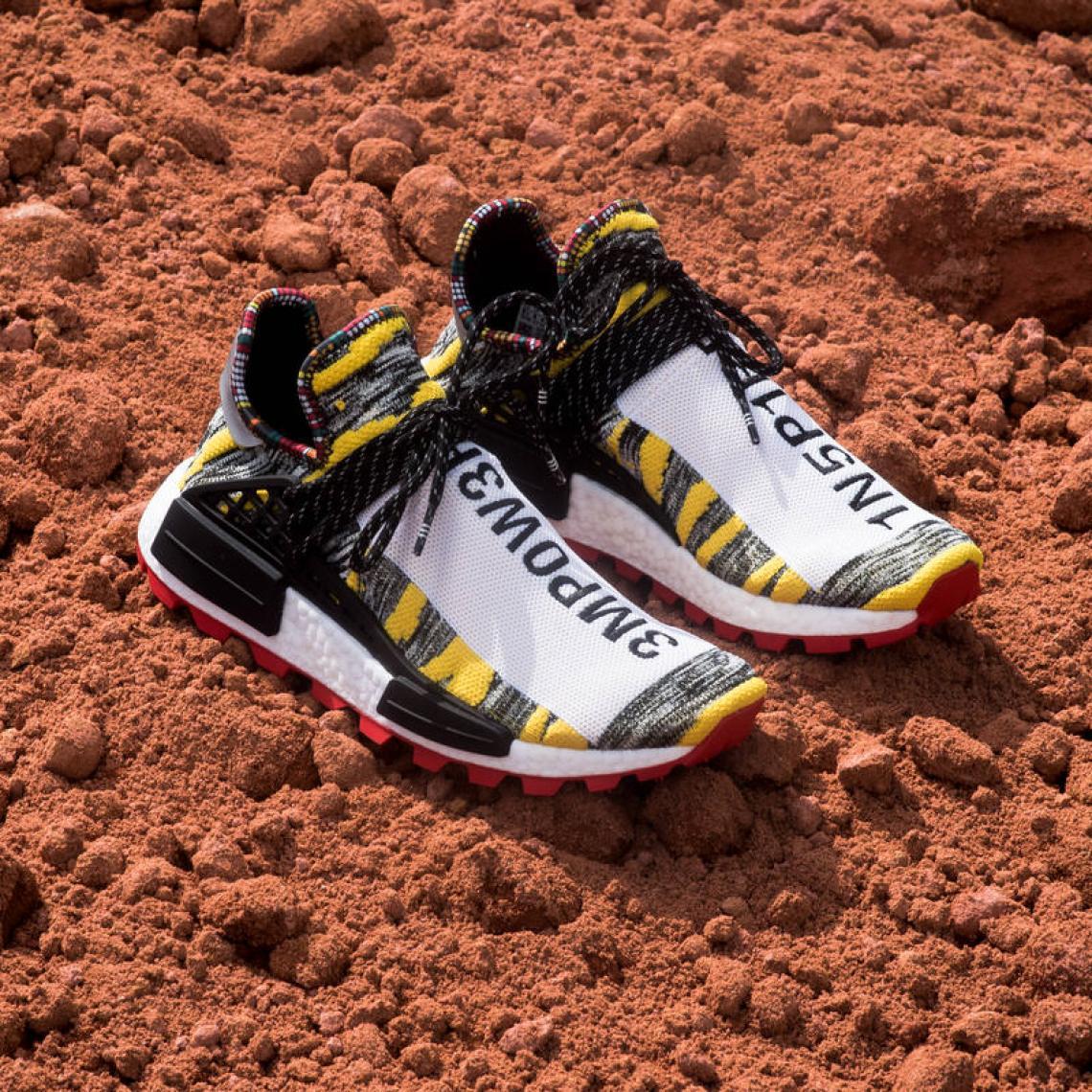 "Pharrell Williams x adidas NMD Hu ""Solar Pack"" eae152953"