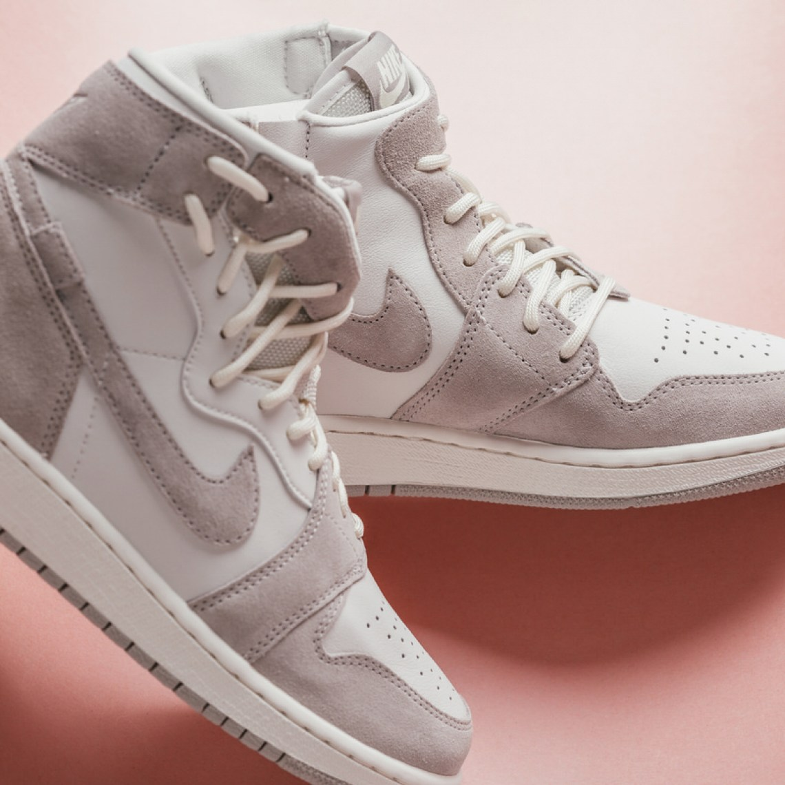 "The Air Jordan 1 Womens Rebel XX ""Moon Particle"" is available now and you  can grab a pair at Feature for 145."