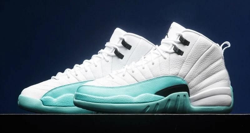 """0318d70a8f0 Air Jordan 12 """"Light Aqua"""" GS    Available Now"""